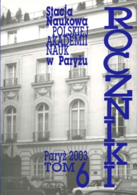 Annales vol. 6
