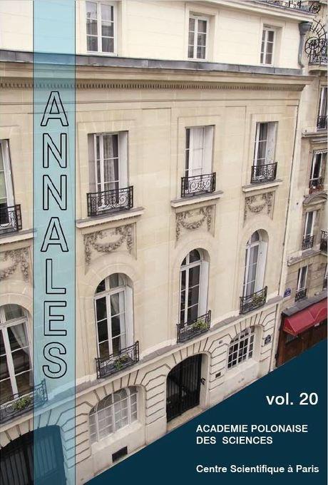 Annales vol. 20