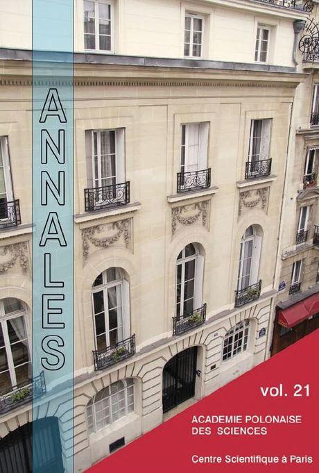 Annales vol. 21