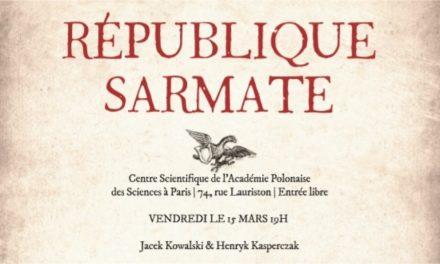 15.03.2019: Republika Sarmacka